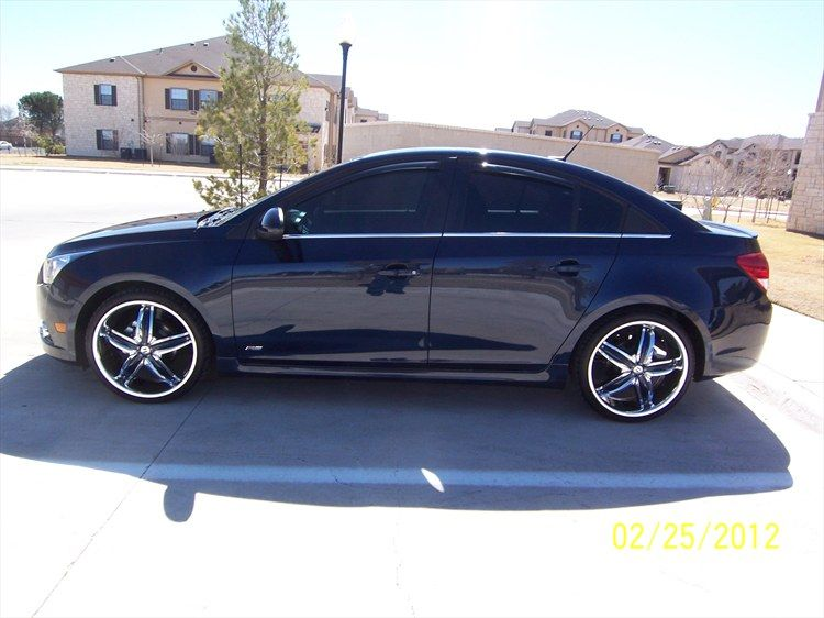 Chevy Cruze With Rims Chevy Cruze Custom Chevy Cruze Cruze