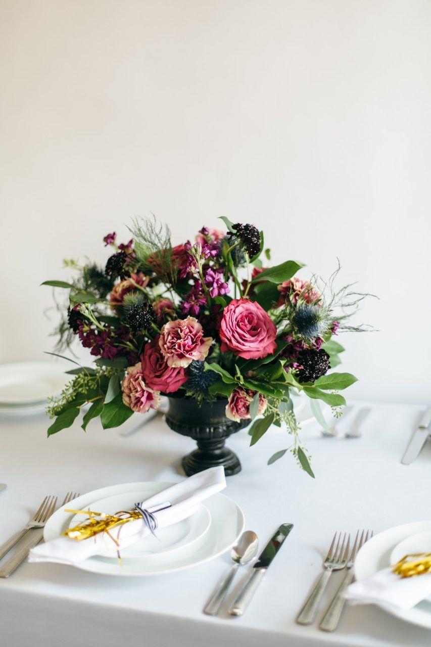 How to diy a floral urn centerpiece pinterest wedding