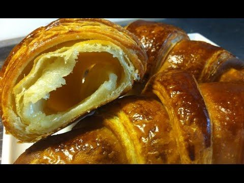 Croissant Puff Pastry Croissant Recipe Youtube Breakfast Sandwich Recipes Croissant Recipe Food