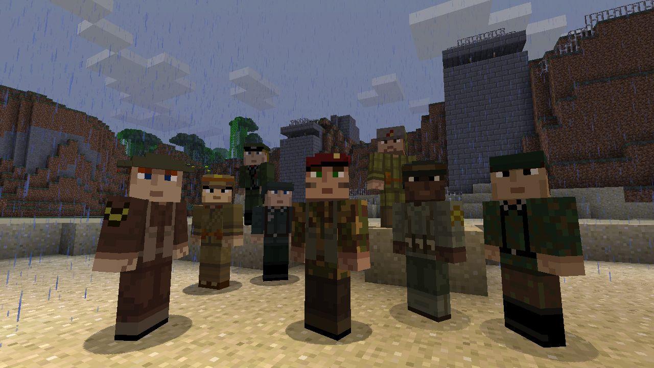 Skin Pack 10 - Soldiers  Soldier, Minecraft, War