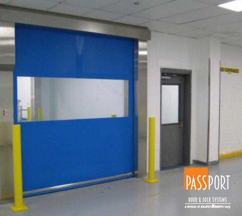 Rytec Pharma Seal Door In 2020 Doors Angier Facility