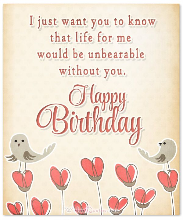 Birthday Wishes for Fianc e – Fiancee Birthday Card