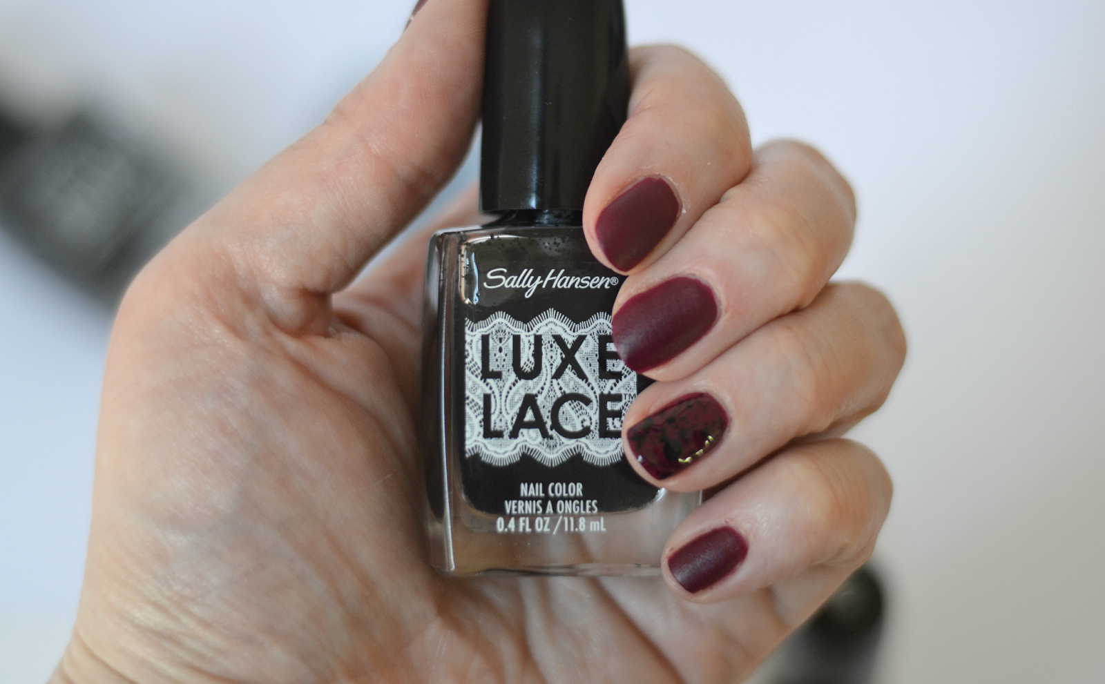 NEW From Sally Hansen: Velvet Texture & Luxe Lace Nail Polish | Lace ...
