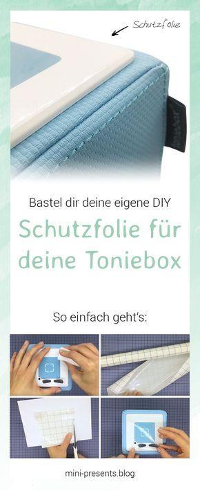 Selbstgemachte Schutzfolie für deine Toniebox | mini-presents