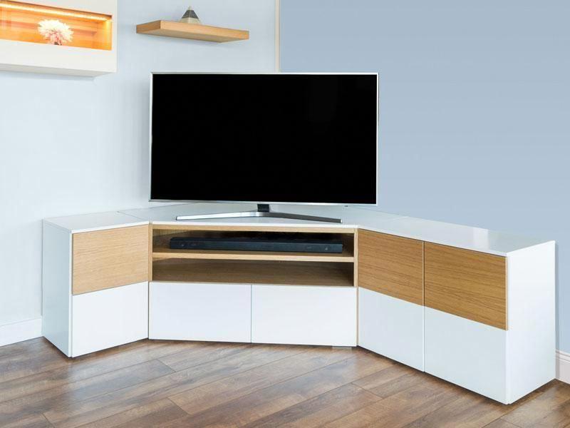 Modern L Shaped Tv Unit Design
