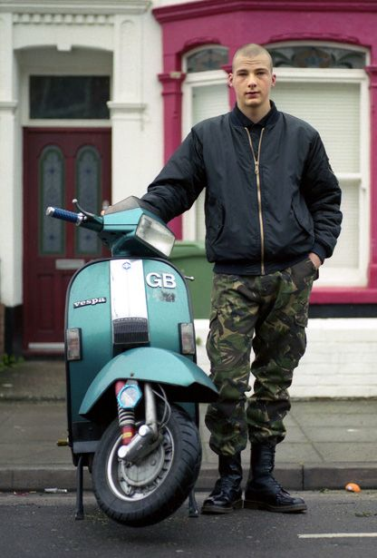 Skinhead Lad Scooter Skins In 2019 Skinhead Men