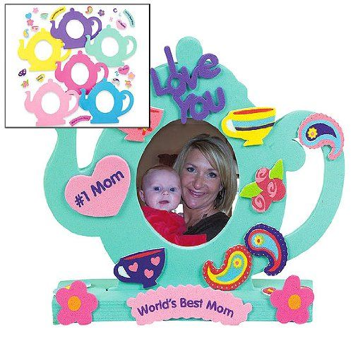 Tea Pot Stand Up Foam Frame Craft Kit (1 dz) Fun Express,http://www ...