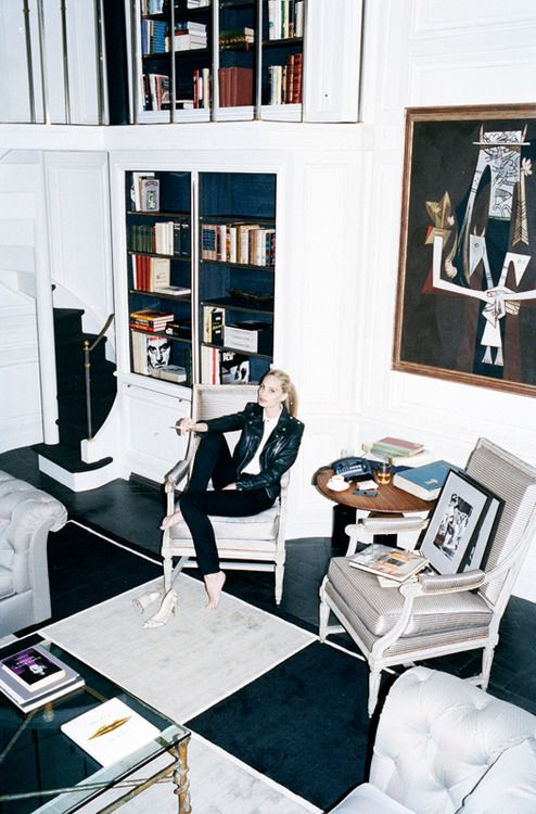 Lauren Santo Domingo At Home For Spanish Vogue