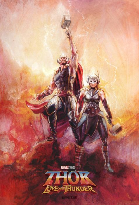 Thor Love And Thunder Created By Tony Stella Marvel