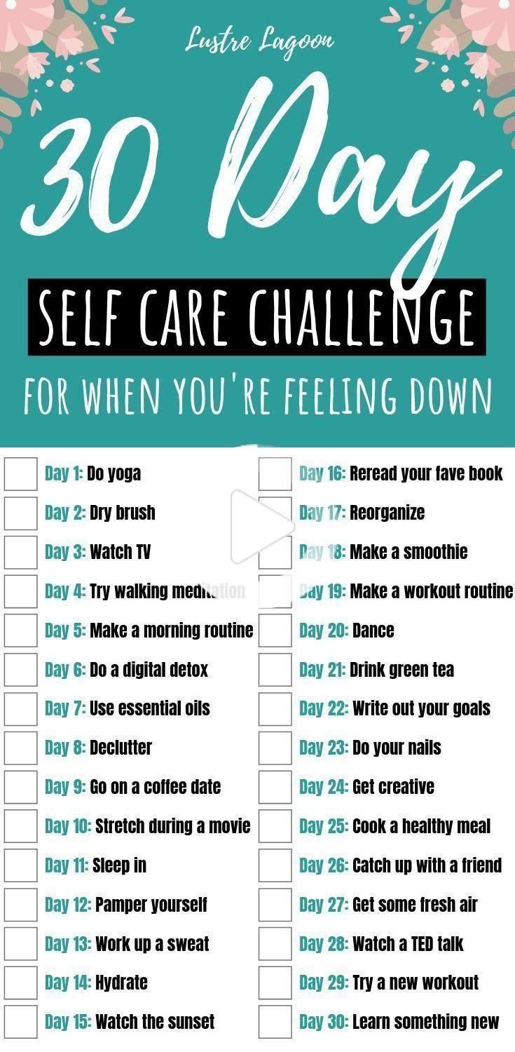 30 Day Self Care Challenge for Entrepreneurs