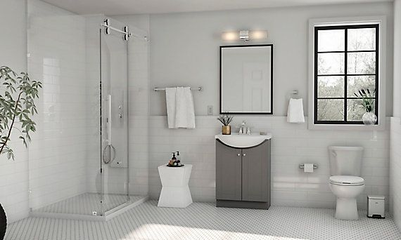 glacier bay 4function shower panel with rainfall
