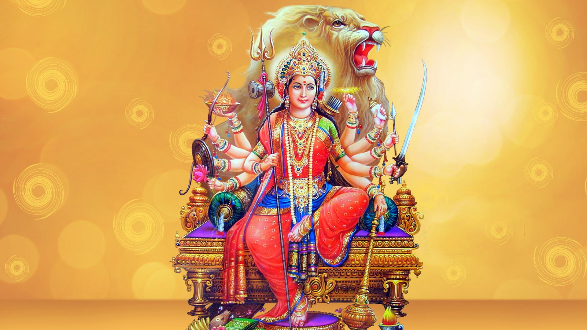 jai maa ambe hd wallpapers navratri festival durga maa hd