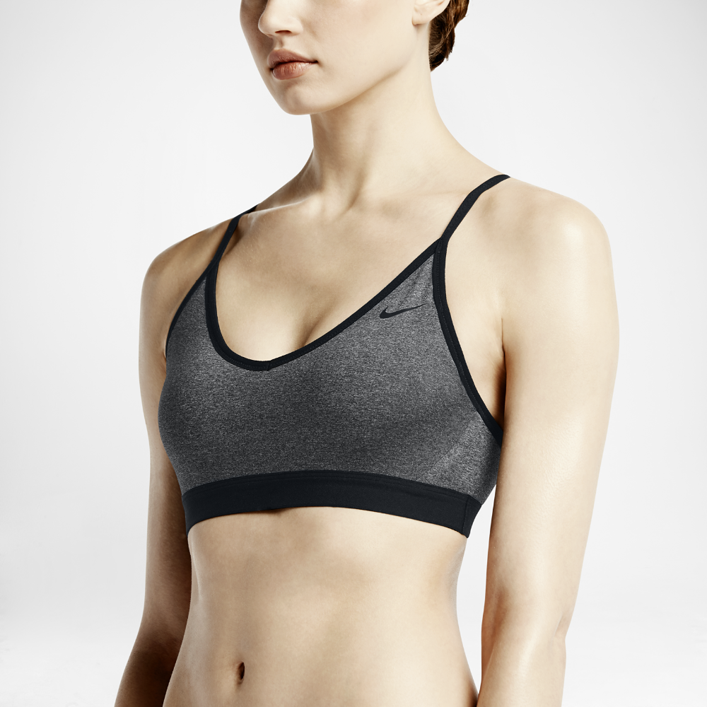 dfeab4ab80e00 Nike Pro Indy Women s Light Support Sports Bra Size Medium (Black) - Clearance  Sale