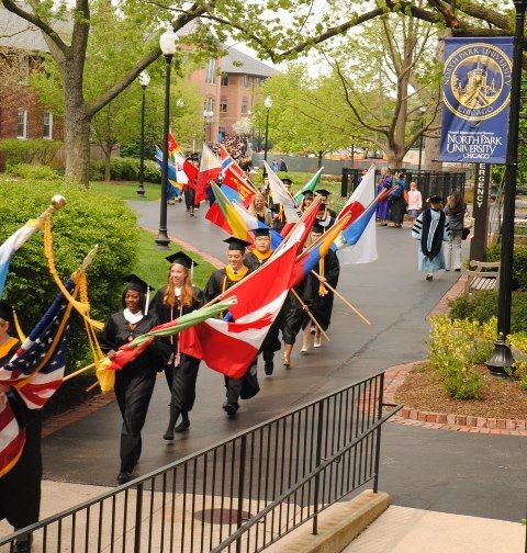 Great Shot From North Park University's Graduation