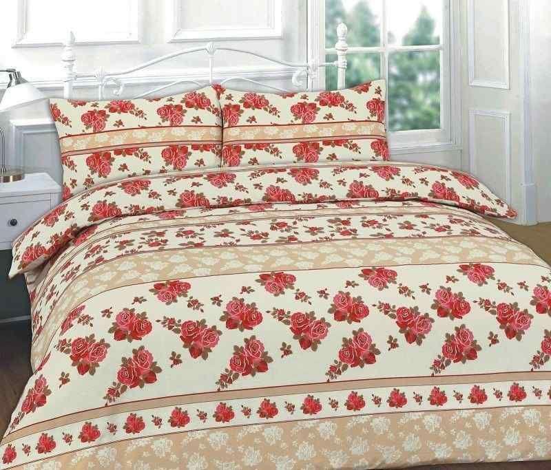 Roses Floral Printed Red Duvet Quilt Cover Set Linens Range Discount Bedding Sets Red Duvet Best Linen Sheets
