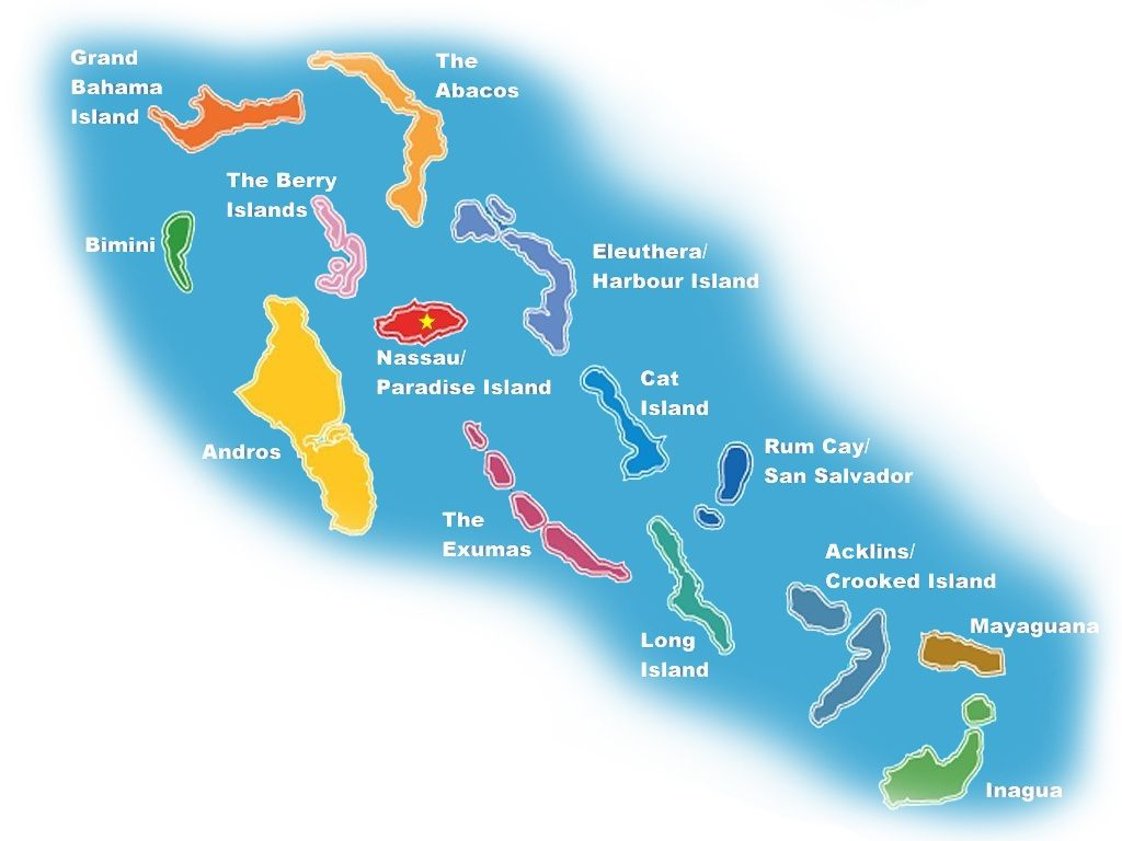 Bahamas Bareboat Charter Map My Adventures In 2019