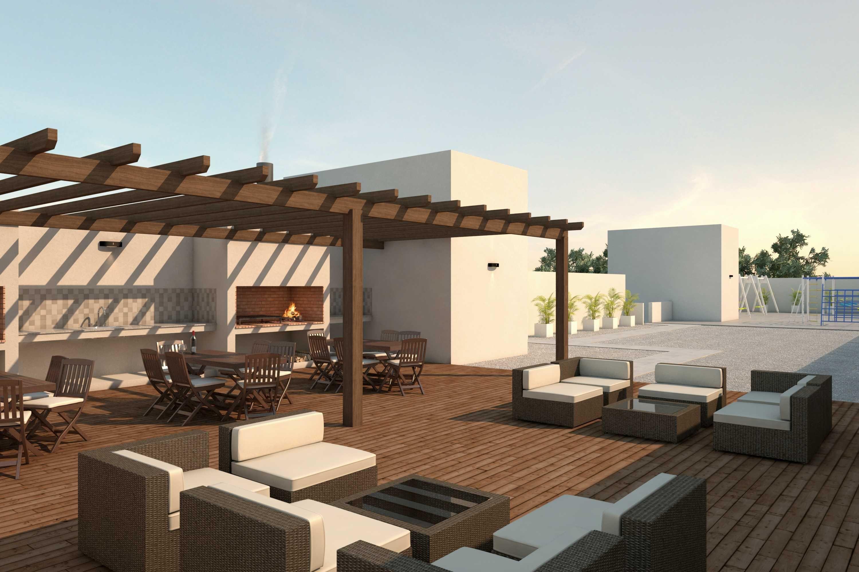 Terraza Primer Idea En Edificio Mustoni Edificios En