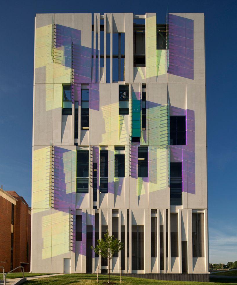 R B Arc Designs Modular Water Chiller Plant At Osu Unique Architecture Facade Architecture Architecture Exterior