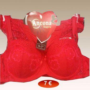 Σετ γυναικεία εσώρουχα Μεγέθη S-XL σε κόκκινο χρώμα 7 492e4544ab5