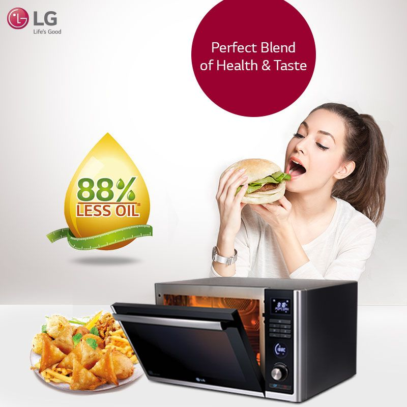 Gorge On Diet Fry Delicacies With Lg Microwaveoven Now Don T