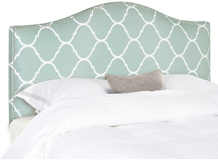 Safavieh Connie Curved Headboard, Blue