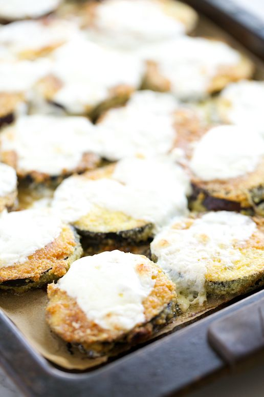 Grain Free Eggplant Parmesan | Get Inspired Everyday!
