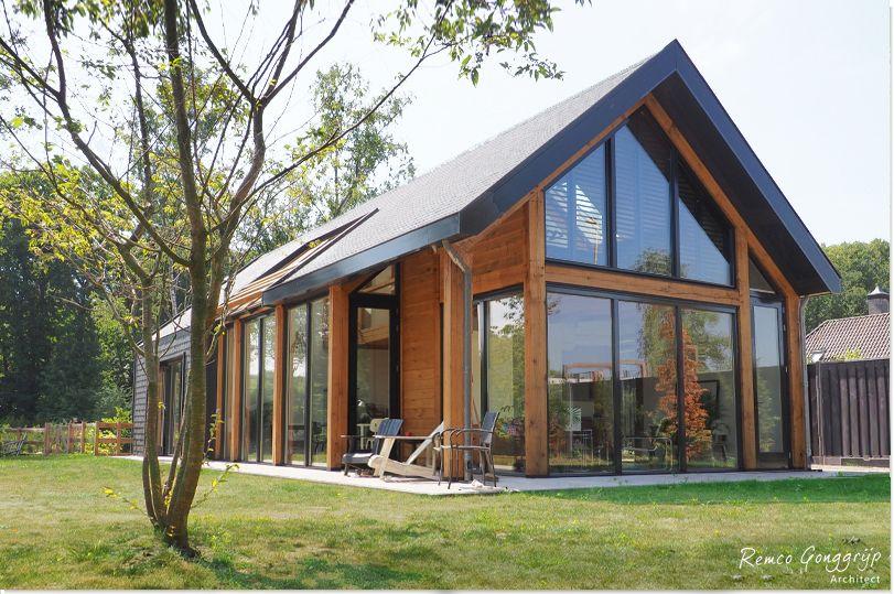 Landelijk Huis Nyc : Houten landelijke woning woonschuur met houten spanten huizen