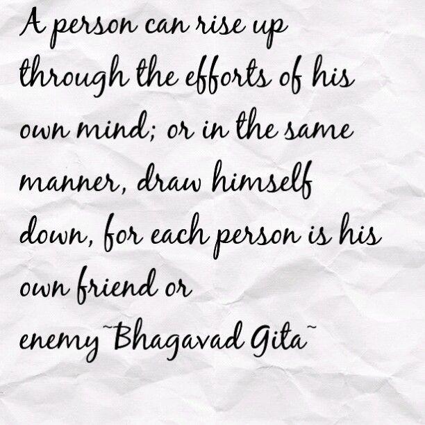 The Yoga Of Meditation~Bhagavad Gita..