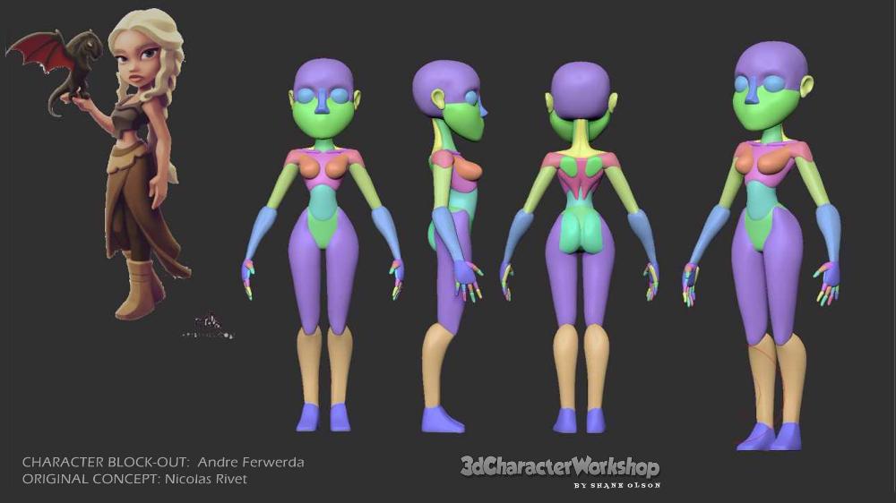 Shane Olson S 3d Character Workshop Zbrush Training Zbrush Character 3d Character Character Drawing