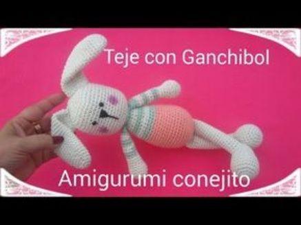 Tutorial Conejito tierno // Amigurumi Paso a paso // Teje con Ganchibol - Shower Blog