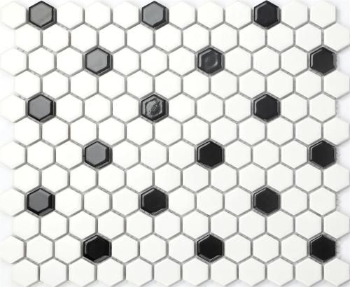 Ceramic White And Black Bathroom Mosaic Tiles Mosaic Tile Sheets Mosaic Bathroom Mosaic Wall Tiles