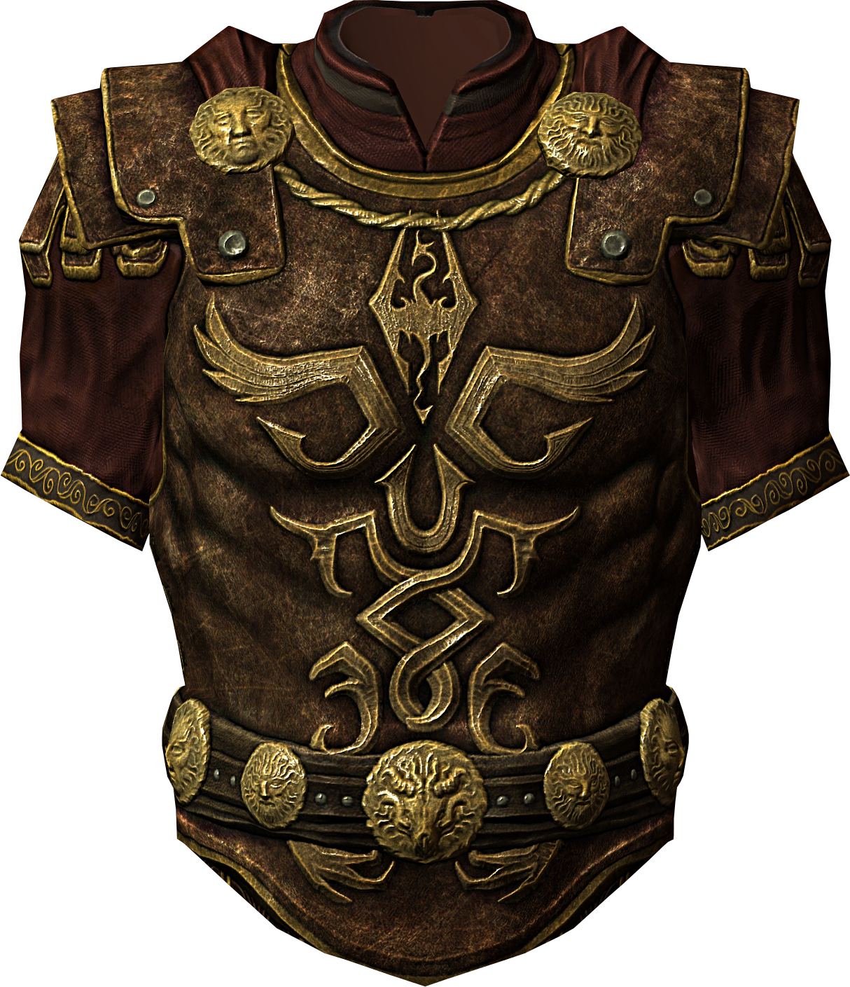 I think that Daniel would wear this... Maybe this is like, the mentor and higher-uppers' armor?