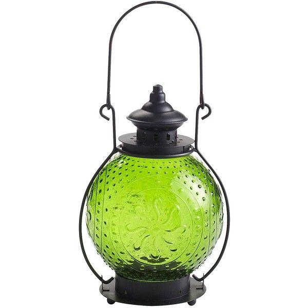 pier 1 imports large sunburst lantern green 9 57 cad liked on