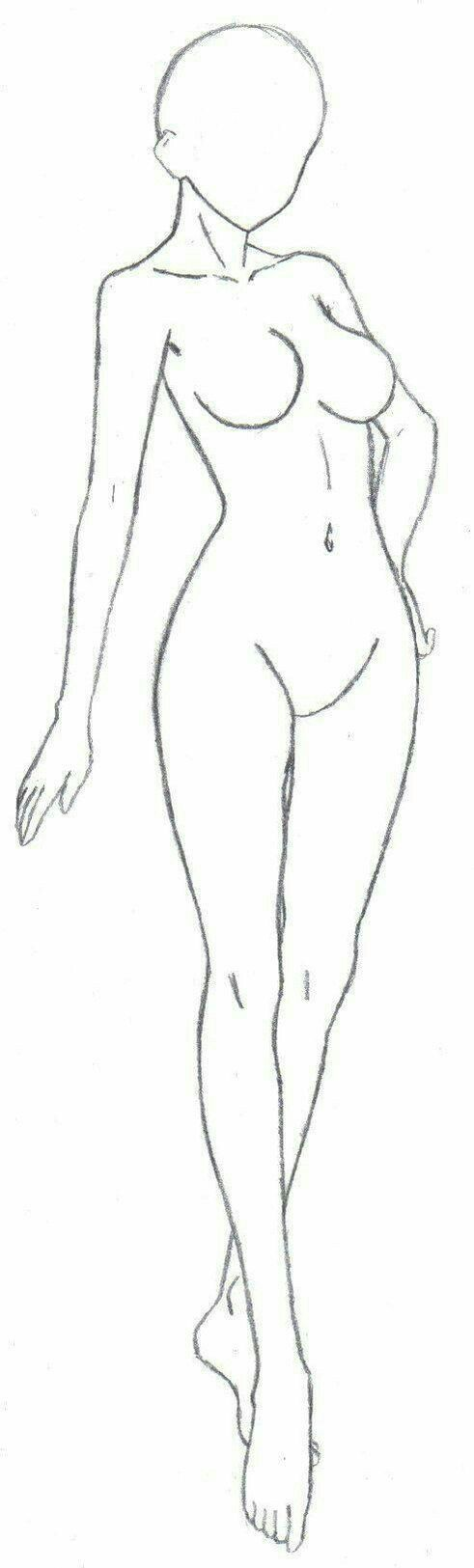Girl body female how to draw manga anime