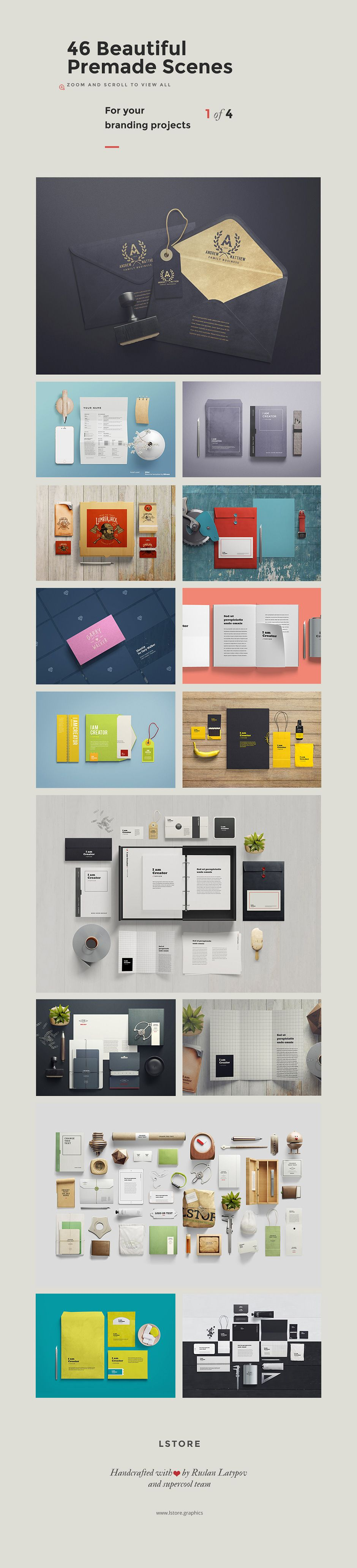 The Gigantic Mockup Templates Bundle: With 18 Incredible Packs ...