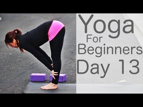 day 13 in the yoga for beginners 30 day challenge you are