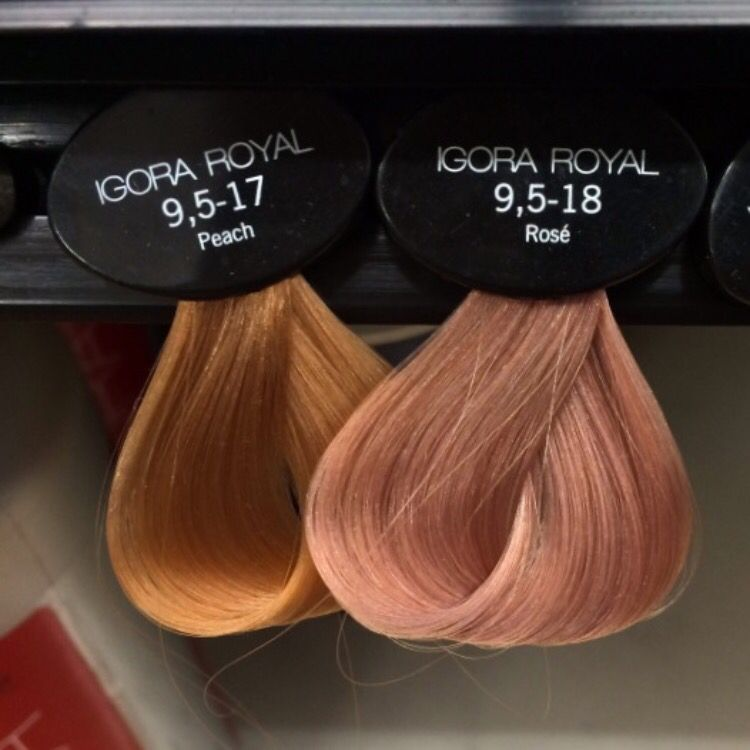 Perfect rose gold hair swatch | Hairspirations | Pinterest | Rose ...