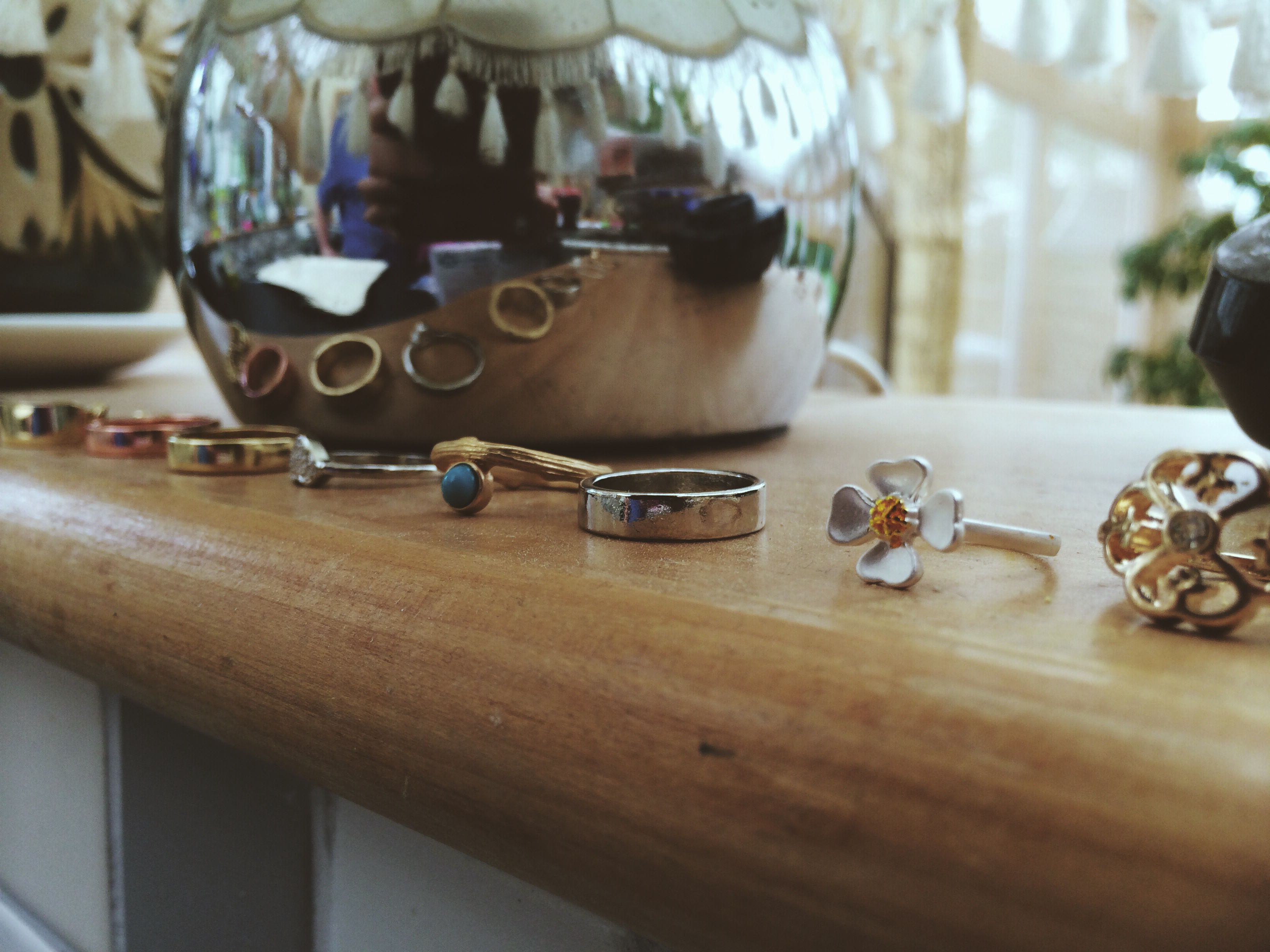Midi rings. Mostly from Topshop.