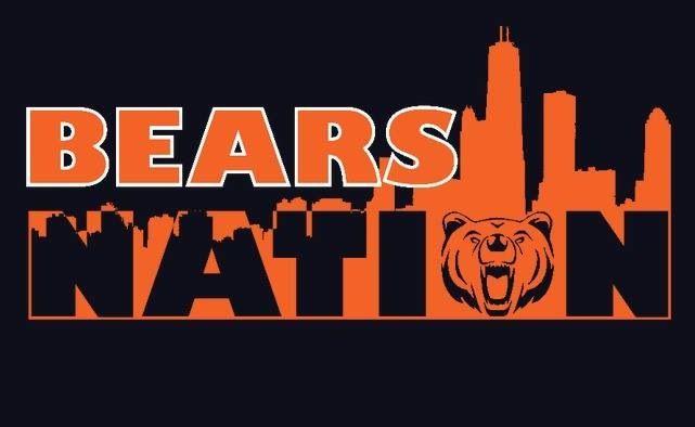 Chicago Bear Nation Chicago Bears Logo Chicago Bears Football Chicago Bears