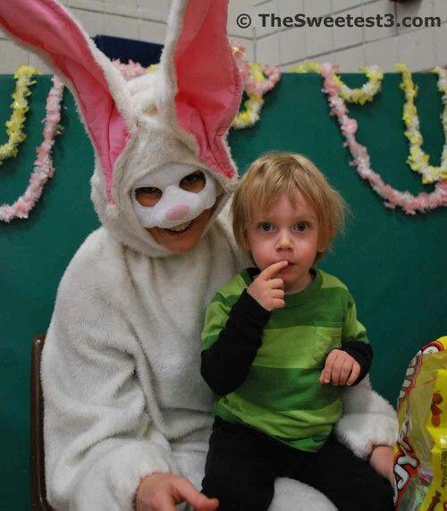 Totally creepy Easter Bunny