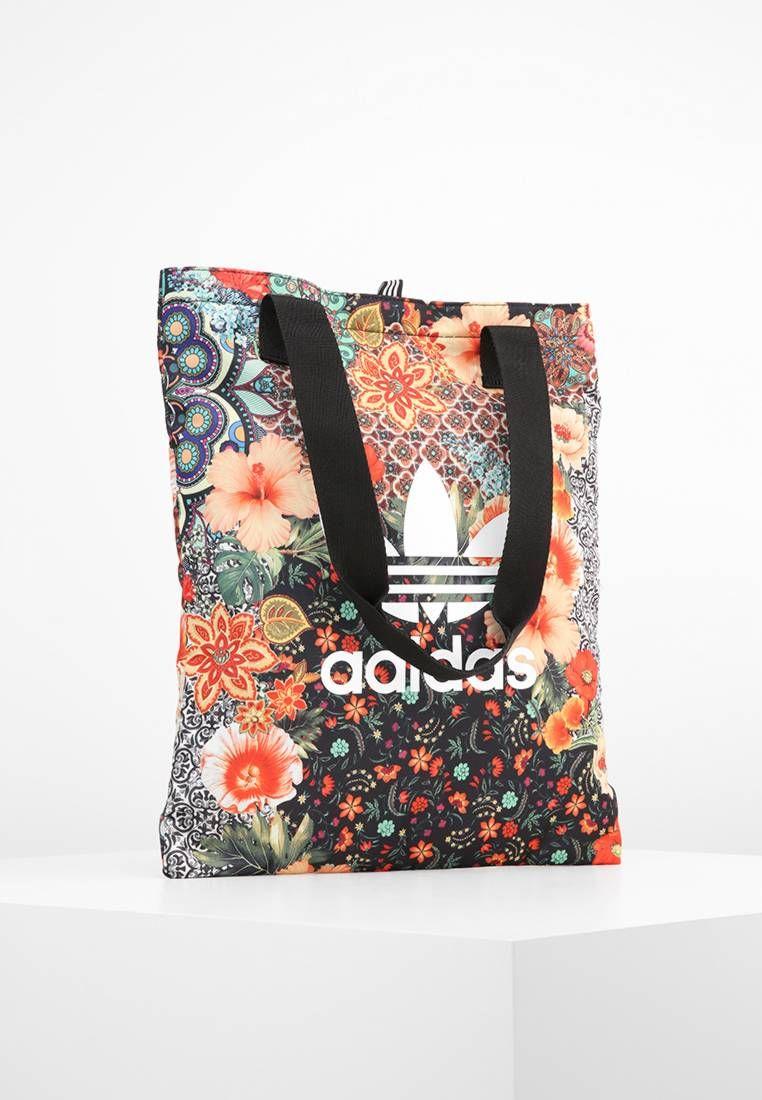 Estampado OriginalsBolso tela Multicolor FloresForro Adidas de 8kO0wnP