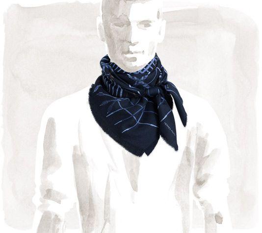 nuovo di zecca reputazione affidabile qualità affidabile Unplugged Hermes cashmere and silk scarf, 36'' x 36 ...