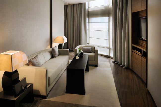 Hotel Armani Dubai: minimalismo elegante