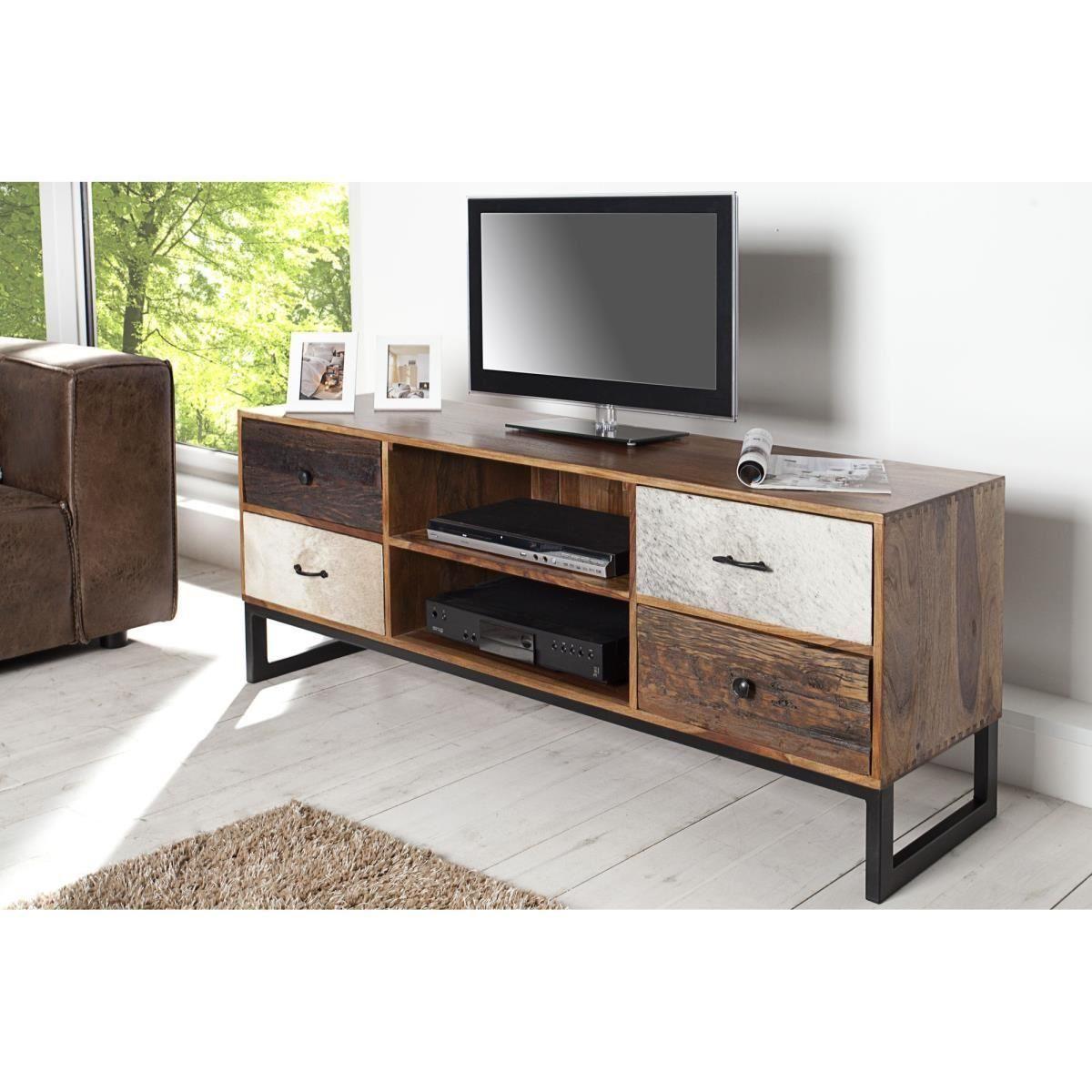 Meuble Tv Design Natura Bois Fonce Jpg Cr Ation Pinterest # Meuble Tv Arena