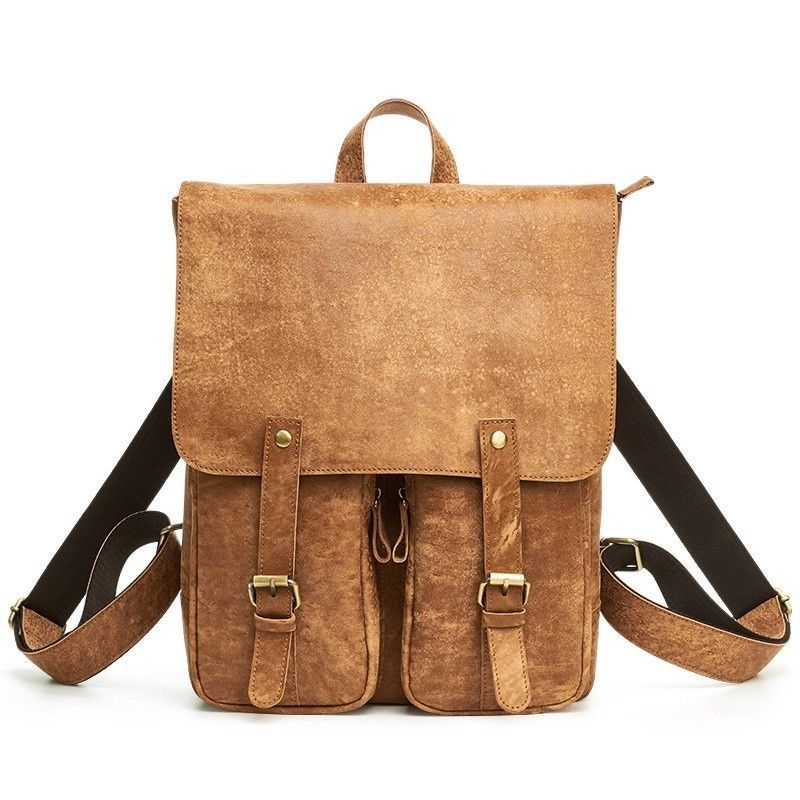 2ffadf561e59 Mens Hi-Q Cowhide Genuine Leather Laptop Backpack Rucksack Bag Satchel  Casual  fashion  clothing  shoes  accessories  mensaccessories  bags (ebay  link)