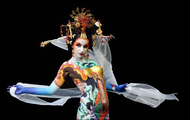 The 15th World Bodypainting Festival in Austria ...