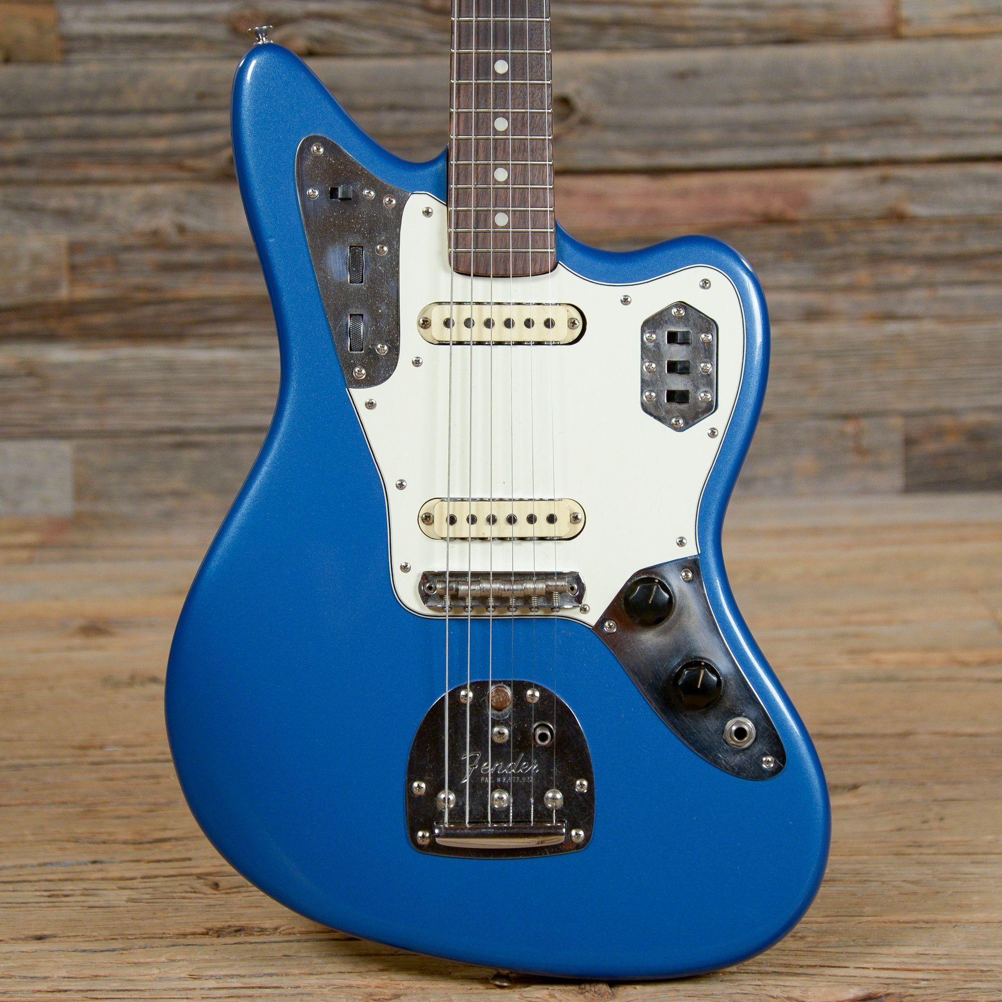 Fender jaguar lake placid blue refin 1965 s919 fender guitars fender jaguar lake placid blue refin 1965 s919 sciox Images