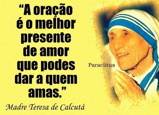 Frases Celebres De Madre Teresa De Calcuta Em 2020 Palavras Que