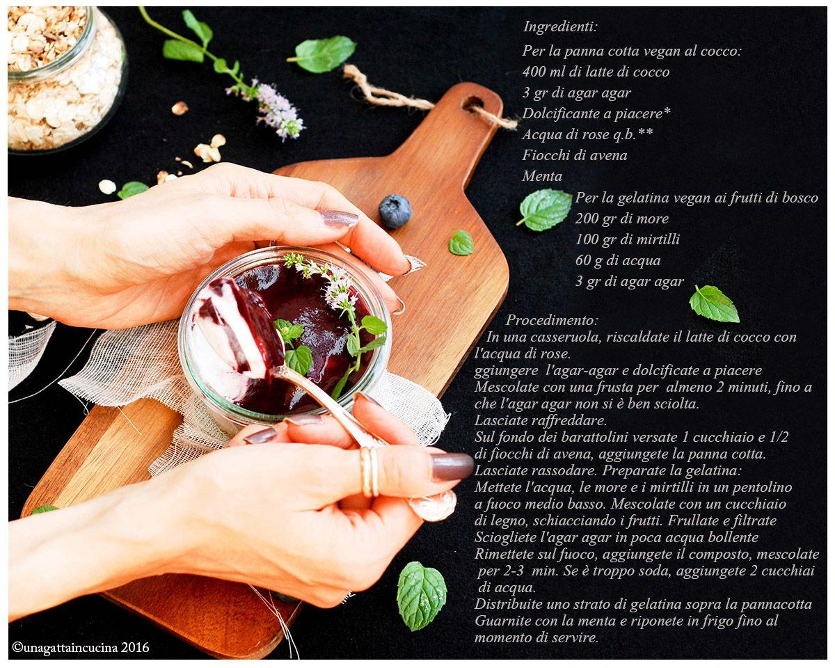 Una gatta in cucina: Vegan pannacotta cheesecake nel barattolo