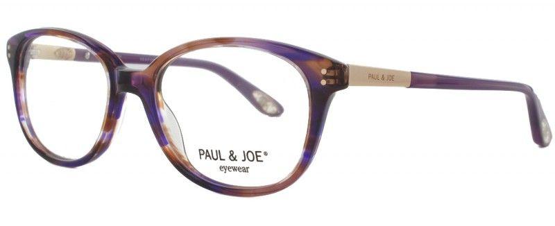 Lunettes de vue Paul and Joe LAGON 02 de couleur violette. Référence  complète   Paul and Joe LAGON 02 E258 49x16 6b0f5c3813a4